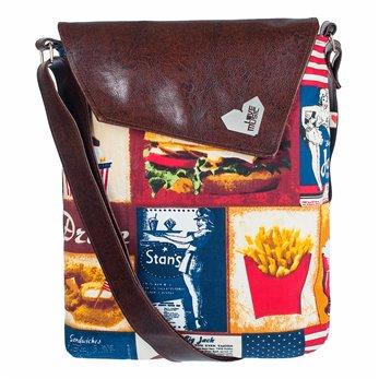Dámská kabelka Dafné - hnědá - Fast Food