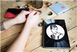 Diář z vinylových desek 2018 - Bonnie a Clyde