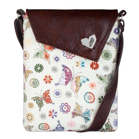 Dámská kabelka Dafné - hnědá - Motýlí romance