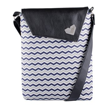 Dámská kabelka Dafné - černá - Cik cak modrý