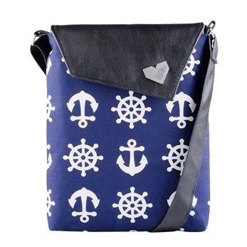 Dámská kabelka Dafné - černá - Námořnická