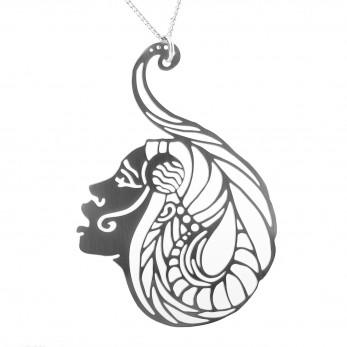 Luxusní dámský ocelový náhrdelník Womanity - Milenka