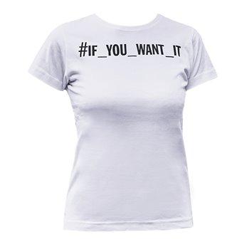 Dámské tričko - Bílé - Cannabis