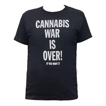 Pánské tričko - Černé - Cannabis