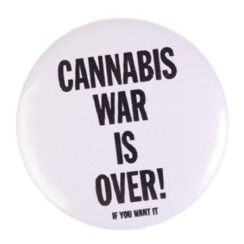 Placka - Bílá - Cannabis