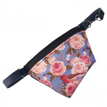 Ledvinka - Černá - Blue roses