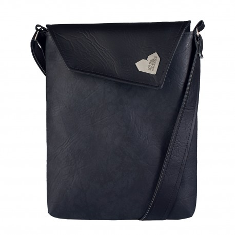 Dámská kabelka Dafné - Černá - Černoantracitová