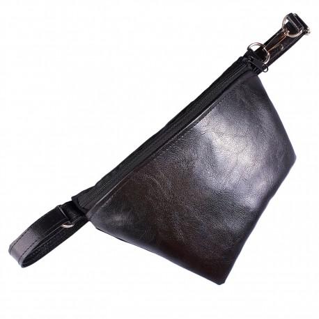 Ledvinka - Černá Koženka Lesklá
