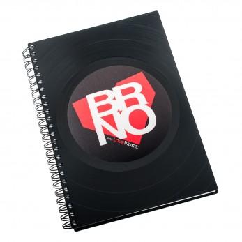 Diář z vinylových desek 2020 - Brno
