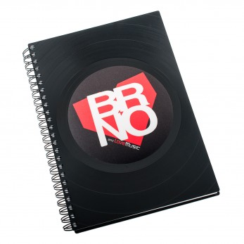 Diář z vinylových desek 2021 - Brno