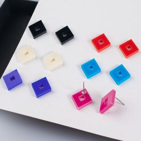 Náušnice MIDI - Diamond - 1 pár