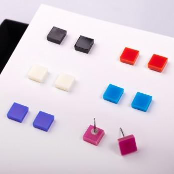 Náušnice MIDI - Pixel - 1 pár