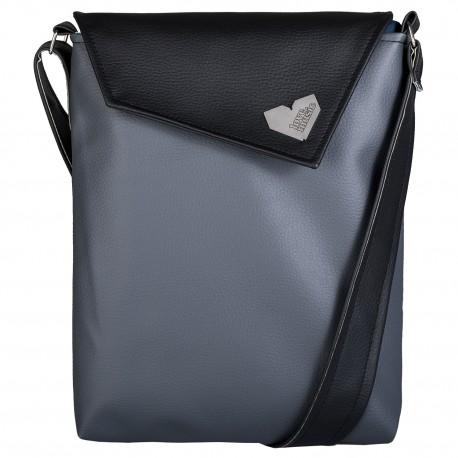 Dámská kabelka Dafné - Černošedá