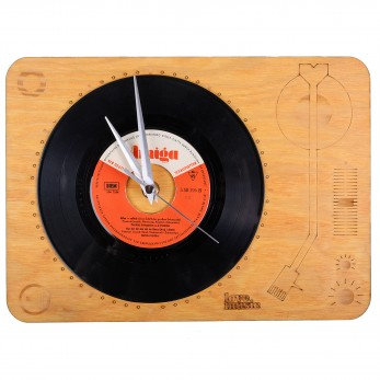 Hodiny Vinyl gramofon