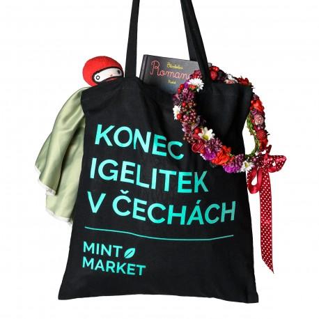 Plátěná taška - Konec igelitek v Čechách