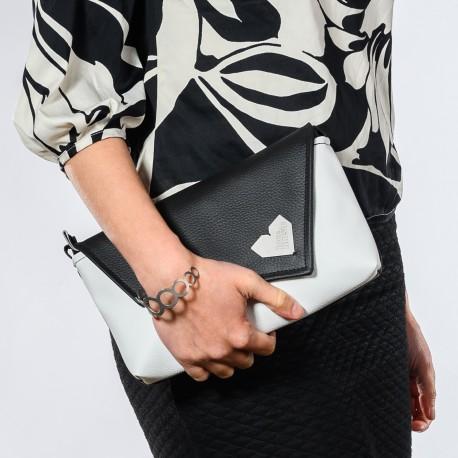 Dámská kabelka Rande Dafné - Černobílá