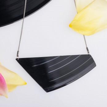 Vinylový náhrdelník - Record