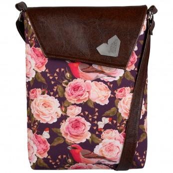 Dámská kabelka Malá Dafné - Roses