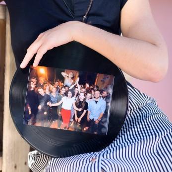 Rámeček na fotku z gramodesky