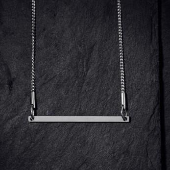 Ocelový náhrdelník - Geometry - Line