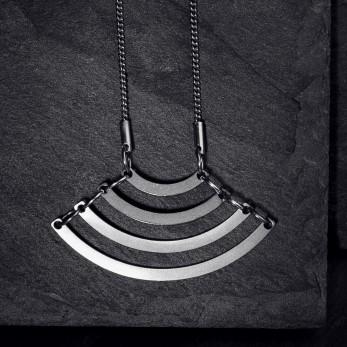 Ocelový náhrdelník - Geometry - Parallel Curve
