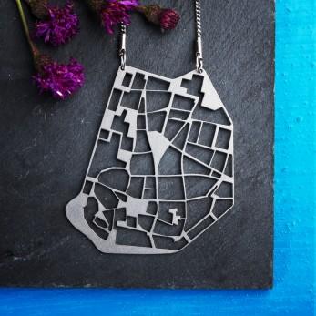 Ocelový náhrdelník Brno