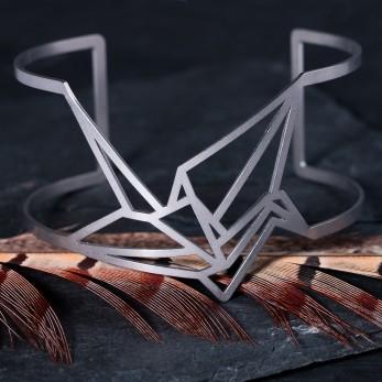 Dámský luxusní ocelový náramek - Complexity - Origami light