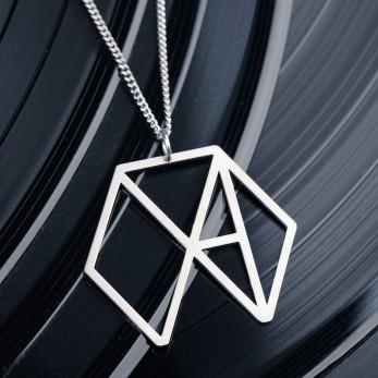 Ocelový náhrdelník Fred Madison