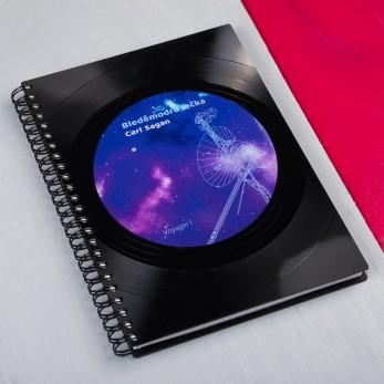 Diář z vinylových desek 2021 - Bleděmodrá tečka