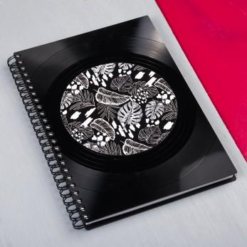 Diář z vinylových desek 2021 - Black Jungle