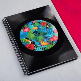 Diář z vinylových desek 2021 - Tukan