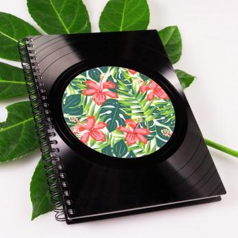 Diář z vinylových desek 2021 - Jungle