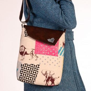 Dámská kabelka Dafné hnědá - Safari