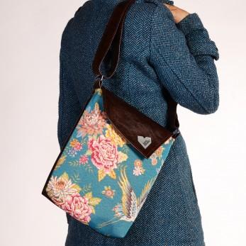 Dámská kabelka Dafné - Jeřáb