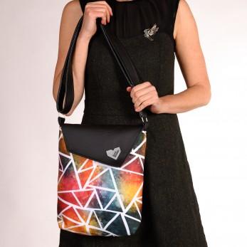 Dámská kabelka Dafné - Trojúhelníky