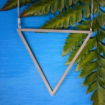 Ocelový náhrdelník Great Triangle