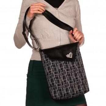 Dámská kabelka Dafné černá - Black and White
