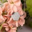 Dámský ocelový náhrdelník - Květ Života