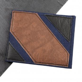 Pánská peněženka - hnědočernomodrá