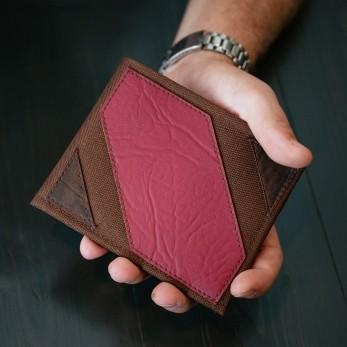 Pánská peněženka - červenohnědá