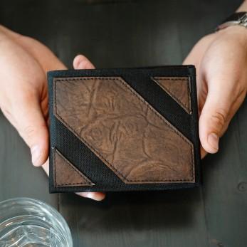 Pánská peněženka - hnědočerná