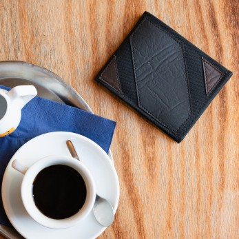Pánská peněženka - hnědošedočerná