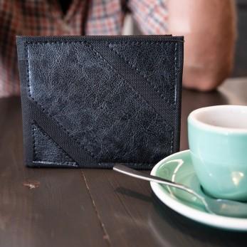 Pánská peněženka - černá lesklá