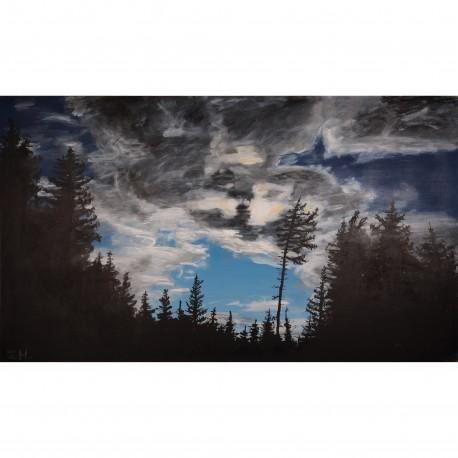 Obraz - Dramatické nebe