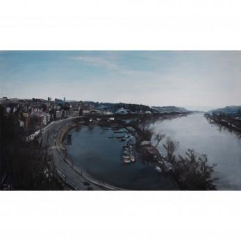 Obraz - Praha z výše hradu
