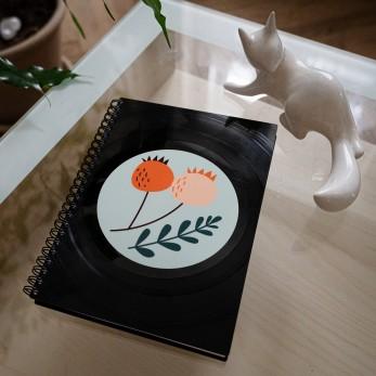 Diář z vinylových desek 2021 - Šípky