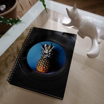 Diář z vinylových desek 2022 - Ananas