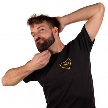 Pánské tričko černé - Zvíře
