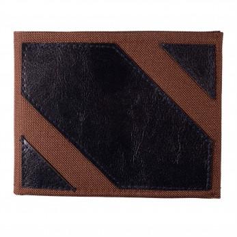 Pánská peněženka - černohnědá lesklá