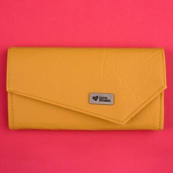 Dámská peněženka - žlutá